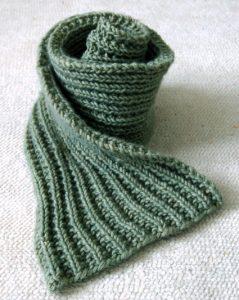 Easy Mistake Stitch Scarf - Purl Soho
