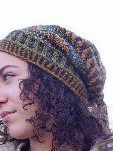 Floppy Fairisle Hat - Virginia Tollock