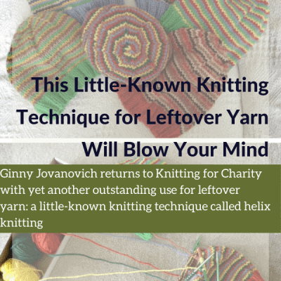 This Little-Known Knitting Technique for Leftover Yarn Will Blow Your Mind