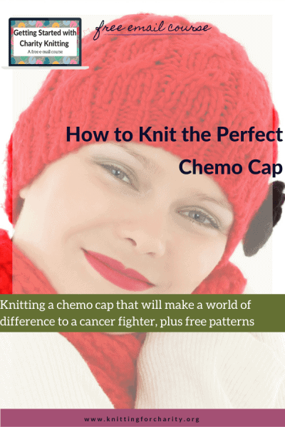 knit the perfect chemo cap