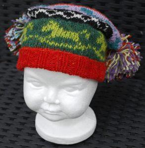 Scrap Yarn Hat for Baby or Child - Julie Berg