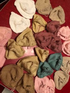 unstuffed knitted knockers