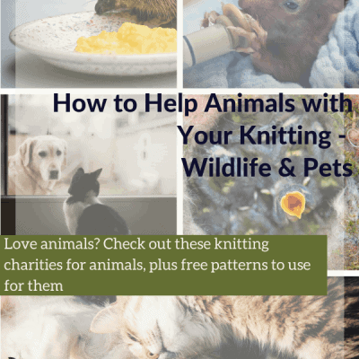 How to Help Animals with Your Knitting – Wildlife & Pets