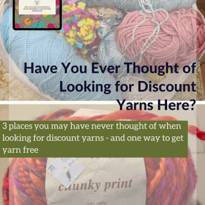 Have You Ever Thought of Looking for Discount Yarns Here?