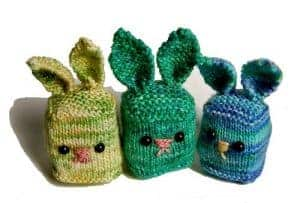 Bunny Cubes - free knitting pattern