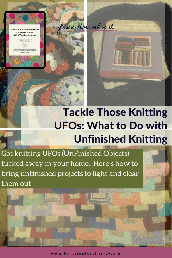 What to do with unfinished knitting
