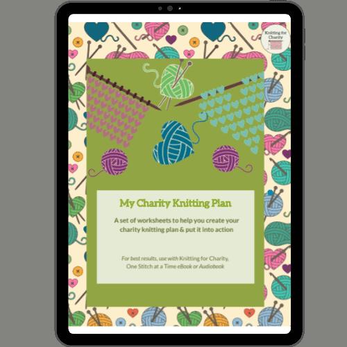 My Charity Knitting Plan Workbook