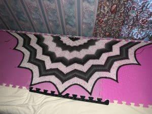 Northern Lights shawl