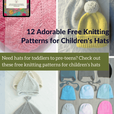 12 Adorable Free Knitting Patterns for Children's Hats