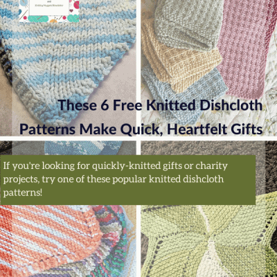 These 6 Free Knitted Dishcloth Patterns Make Quick, Heartfelt Gifts